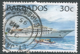Barbados. 1994 Ships. 30c Used. No Date Imprint. SG 1078 - Barbados (1966-...)