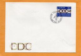 Liechtenstein 1965 FDC - FDC