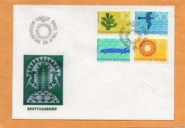 Liechtenstein 1966 FDC - FDC