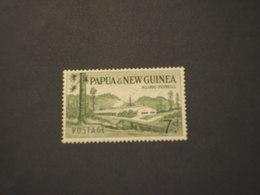 PAPUA - 1958/64 INDUSTRIA  7 P.- NUOVO(++) - Papua Nuova Guinea