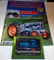Tracteurs Et Monde Agricole N°7 - LE FORDSON POWER MAJOR - 1958 - HACHETTE - Other Collections
