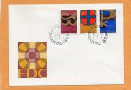 Liechtenstein 1967 FDC - FDC