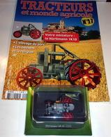 Tracteurs Et Monde Agricole N°27 - Le Hürlimann 1k10 - 1930-Hachette - Other Collections