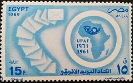 Egypt 1988 African Postal Union - Egypt
