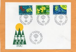 Liechtenstein 1968 FDC - FDC