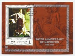 YEMEN. Y.A.R.- 200TH ANNIVERSARY OF NAPOLEON 1769 -1969. - Jemen