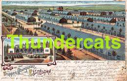 CPA TRUPPEN UBUNGSPLATZ ELSENBORN LITHO JOH KANZLER - Elsenborn (camp)