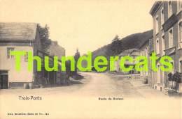 CPA TROIS PONTS ROUTE DE BODEUX  NELS SERIE 20 NO 140 - Trois-Ponts