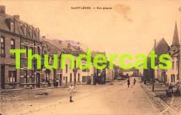 CPA SAINT LEGER RUE GRANDE - Saint-Léger