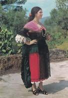 LAMEZIA TERME COSTUME CALABRESE VIAGGIATA 1973 - Lamezia Terme
