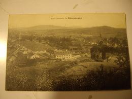 GIROMAGNY  CP  1915 Pour TANINGES  HAUTE SAVOIE - Giromagny