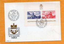 Liechtenstein 1972 FDC - FDC
