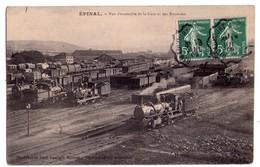 2142 - Epinal ( 88 ) - Vue D'Ensemble De La Gare Et Des Rotondes - Phototypie Paul Testart - - Epinal