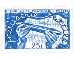 Ref. 121251 * MNH * - FRANCE. 1951. INTERNATIONAL TEXTILES EXHIBITION IN LILLE . EXPOSICION TEXTIL INTERNACIONAL DE LILL - Textil