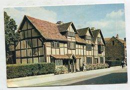 ENGLAND -  AK 328998 Stratford-upon-Avon - Shakespeare's Birthplace - Stratford Upon Avon