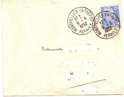 10---    34    MONTPELLIER ENTREPOT  Gandon - Marcophilie (Lettres)