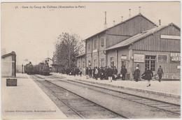 CARTE POSTALE   Gare Du Camps De Châlons (Mourmelon Le Petit) - Autres Communes