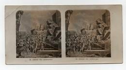 Ancienne CARTE Vue Stéréoscopique Prise De Jericho Bible Religion Catholique - Stereo-Photographie