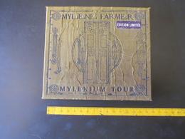 MG G - Mylene Farmer Mylenium Tour - 2 CD'S - Collector's Editions