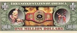 STATI UNITI-1 MILLION DOLLARS-WRESTLE-2002- EMISSIONI DI  FANTASIE-UNC - Altri