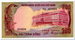 VIET NAM-SOUTH,200 DONG,1972,32,AU - Vietnam