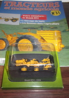 Tracteurs Et Monde Agricole N° 31 : Le Staub Rt4 - 1954-Hachette - Other Collections