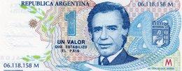 ARGENTINA-1 VALOR QUE ESTABILIZO EL PAIS-1996- EMISSIONI DI  FANTASIA-UNC- Fantasy Issue - Argentina