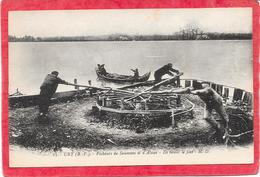 64 URT - Pécheurs De Saumons Et D'aloses. Ils Tirent Les Filets - Animée - France