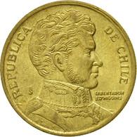 Monnaie, Chile, 10 Pesos, 1995, Santiago, TTB, Aluminum-Bronze, KM:228.2 - Chile