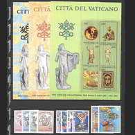 Vaticano 1983  Annata Completa Nuova/mnh** (Include 3 Foglietti E Posta Aerea) - Annate Complete