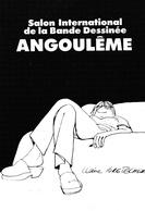 Salon International De La B.D. -   - Illustrateur  Bretecher - Angouleme