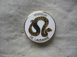 Pin's Du Vivarium Da LAUSANNE En Suisse - Animali
