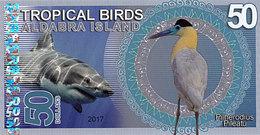 Aldabra Island 50 Dollars 2017  UNC - Fictifs & Spécimens