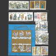 Vaticano 1988  Annata Completa Nuova/mnh** (incluso Foglietto E Posta Aerea) - Vaticano