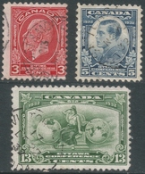 Canada. 1932 Ottawa Conference. Used Postage Values SG 315-317 - 1911-1935 Reign Of George V
