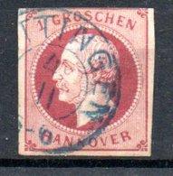Hanovre  / N17 / 1 G Rose / Oblitéré - Hannover