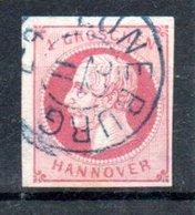 Hanovre  / N17 / 1 G Rose / Oblitéré - Hanover