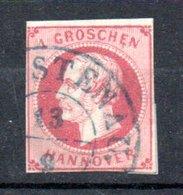 Hanovre  / N17 / 1 G Rose / Oblitéré - Hanovre