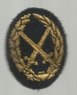 écusson Tissu , Militaria , Armée De Rerre , BMP2 , Brevet Militaire Professionnel De 2 E Degré , 2 Scans - Patches
