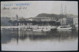 "NICE - JACHT ""MINNIKOI"" EX. ""WANDERER"" - Navigazione – Porto"