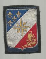 écusson Tissu , Militaria , DIVISIONNAIRE PARIS , 2 Scans - Ecussons Tissu