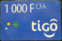 SENEGAL Tigo 1000 FCFA - Senegal