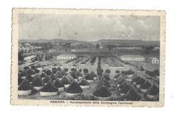 CARTOLINA DI ASMARA ERITREA - COLONIE - 1 - Eritrea