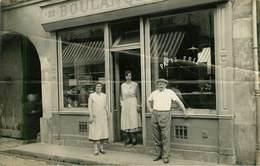 Dép 78 - Métiers - Commerce - Boulangeries - Montesson - Carte Photo D'une Boulangerie - 2 Scans - état - Montesson