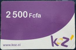 Ivory Coast Koz 2500 FCFA - Ivoorkust