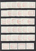 1984 Frama Labels UM/MNH Set Of 34 As Scanned - 1952-.... (Elizabeth II)