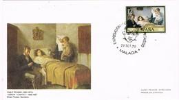 29470. Carta Exposicion MALAGA 1978. Pintor PABLO PICASSO. Ciencia I Caritat - 1931-Hoy: 2ª República - ... Juan Carlos I