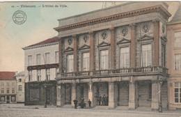 Tirlemont , Tienen ,L'Hôtel De Ville , Het Stadhuis ,( Kleurenkaar , Colorisée )Bertels, N° 21 - Tienen