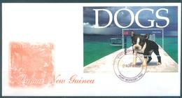 PAPUA NEW GUINEA - FDC  -  2.11.2005 - DOGS  - Yv BLOC 32 -  Lot 17667 - Papouasie-Nouvelle-Guinée