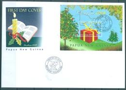 PAPUA NEW GUINEA - FDC  -  3.12.2008 - CHRISTMAS  - Yv BLOC 55 -  Lot 17668 - Papua-Neuguinea